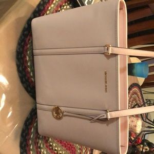Pink Michael Kohrs tote/Laptop bag
